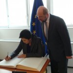 Prime Minister met with Mr. Martin Schulz, President of the European Parliament.