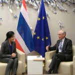 Prime Minister met with Mr. Herman Van Rompuy, President of the European Council.