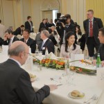 Prime Minister presided over a Business Networking Reception and Luncheon for businessmen from Thailand, Belgium and Europe.