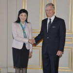 HRH Crown Prince Philippe of Belgium granted the Prime Minister an audience at the Royal Palace.