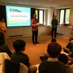 Ambassador Apichart welcomes students