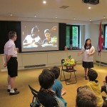 Students of St.Joseph School paid attention to presentation regarding Thailand