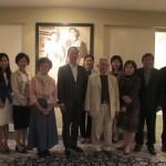 Professor Noranit and Embassy Staff