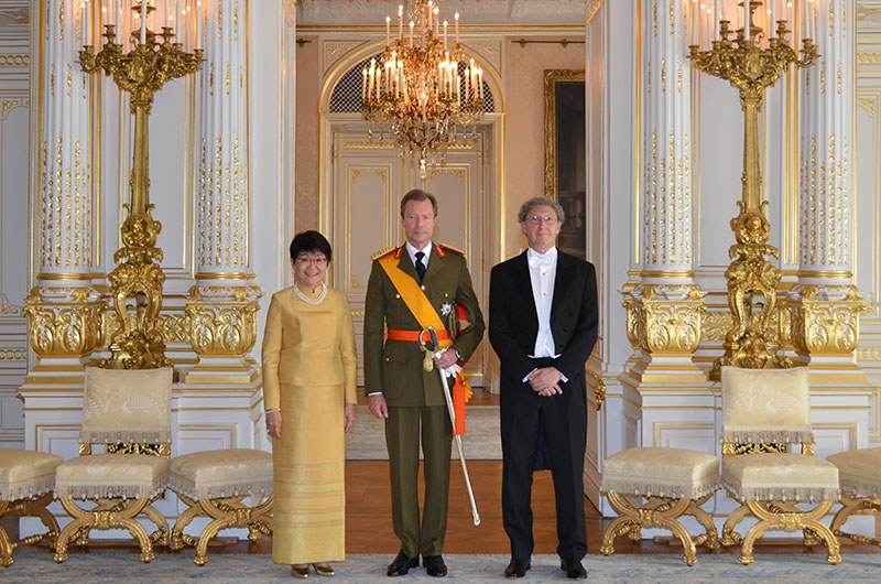 Ambassador of thailand presented the letters of credence to his tags spiritdancerdesigns Image collections